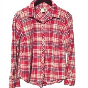 Lucky Brand || Button down Long sleeve flannel